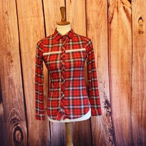 *NWT* Polly & Esther Long Sleeve Flannel Shirt